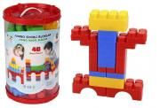 Конструктор Jumbo Magic Blocks 40 деталей в ведре - 3216plsn