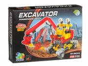 Конструктор Dragon Toys Страйп Экскаватор JH6915 (250 элементов)