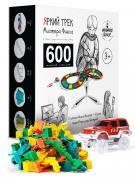 Яркий трек Мистера Фикса гибкий конструктор А-600 (600 сегментов, 2 машинки, 3 моста, 4 перекрестка)
