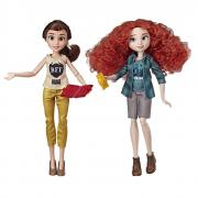Набор Бель и Мерида - Ральф против Интернета / Disney Princess Ralph Breaks The Internet Movie Dolls, Belle and Merida Dolls with Comfy Clothes and Accessories