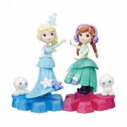 Кукла Hasbro DISNEY FROZEN на движущейся платформе-снежинке B9249
