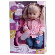 Кукла Shenzhen Toys Тоша с горшком чашка бутылочка R31000C1 Д85838