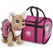 Плюшевая собачка Simba ''Chi-Chi love'' ''Париж 2'' в платье светящемся в темноте с сумкой 20см 5893123129