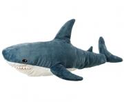 Мягкая игрушка-подушка Акула 120 см (Серый)