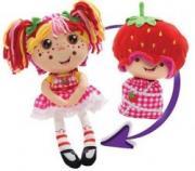 Мягкая игрушка-кукла 1Toy Девчушка-вывернушка 2 в 1 - Ксюшка (Т13634)