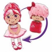 Мягкая игрушка-кукла 1Toy Девчушка-вывернушка 2 в 1 - Катюшка (Т13635)