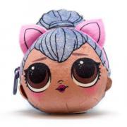 Плюшевая сумочка-антистресс с сюрпризом внутри LOL. Kitty Queen
