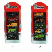 Набор машин Yako Toys Мой город M7236-3