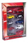 Коллекционная модель MOTORMAX Игровой набор из 10 машин 75648