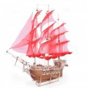 """Сборная модель из дерева Lemmo """"Корабль Пегас"""" (76 x 42 x 63 см)"""