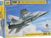 Звезда Сборная модель Советский истребитель-перехватчик МиГ-31