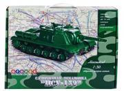 """Сборная модель ОГОНЁК Самоходная установка """"ИСУ-152"""" (С-40) 1:30"""