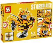 Трансформеры — «Бюст Bumblebee» из 397 деталей SY 7500, конструктор из серии Роботы, Креатор