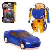 Робот - трансформер «Автомобиль», с металлическими элементами, МИКС