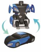 Робот-трансформер Пламенный мотор Пламенный мотор Антигравитационная машина-робот на радиоуправлении 870435 синий