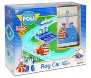 Набор маленький трек Robocar Poli - умная машинка Рой в комплекте