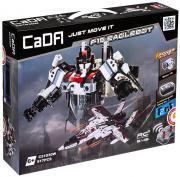Робот-трансформер «F15-EagleBot» 2in1 RC из 917 деталей CaDA 51030, конструктор из серии Роботы, Техник