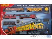 "Железная дорога Mehano Стартовый набор ""Wrecker Crane"", T741, H0 (1:87)"