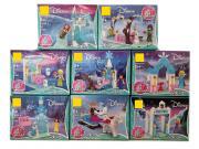 Набор 8 фигурок Принцессы Дисней и замок (70002)