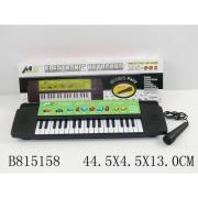 Синтезатор на батарейках с микрофоном MS001