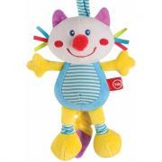 Happy Baby Подвесная игрушка-растяжка с вибрацией Кот 330360