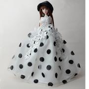 Вечеринка Платья Для Barbiedoll Кружево / органза смокинг Для Девичий игрушки куклы