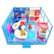 ABtoys Счастливые друзья. Модульная комната, в наборе с мебелью и фигурками животных, 12 пр. PT-00913