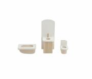 Набор мебели для мини-кукол Paremo Ванная комната PDA517-01
