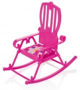ОГОНЁК Кресло-качалка Зефир (С-1482) розовое