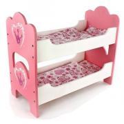 Кроватка деревянная двухспальная Корона Mary Poppins