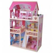 Кукольный домик Edufun с мебелью (59*30*90) EF4109