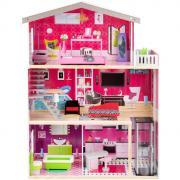 Кукольный домик Edufun с мебелью (82x31x115) EF4118