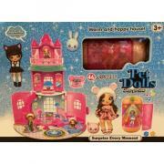 Замок для кукол Pet Dolls Surprise Happy House (розовый)