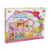 Кукольный домик Junfa Lovely House 136 предметов