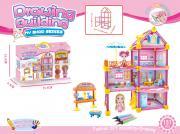 Игровой набор Построй домик, QY2146