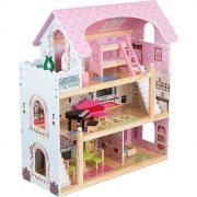 Кукольный домик Edufun с мебелью (62,5*31*70) EF4110