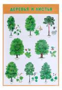 Интерактивный плакат Мозаика-Синтез Деревья и листья