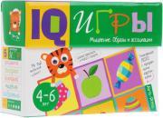 Обучающая игра Айрис Сундучок с IQ играми. Мышление. Образы и ассоциации. (25217)