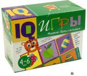 Развивающая игра Айрис-пресс Сундучок с IQ играми. Мышление. Образы и ассоциации. 4-6 л
