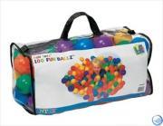 Набор шариков-мячиков для игровых центров (8см) Intex Fun Ballz Intex 49600 (100шт)