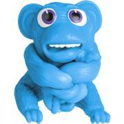 1TOY Супер Стрейчеры Облизьяна, 11см, синий Т18657