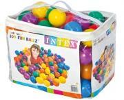 Пластиковые мячи 8см, 100шт для игровых центров, от 2 лет, Intex 49600