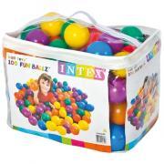 Пластиковые мячи для игровых центров Intex от 2 лет 8 см 100шт 49600