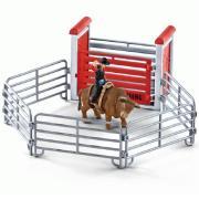 Родео игровой набор с фигуркой ковбоя, быка, аксессуарами для детей от 3 лет Schleich 41419