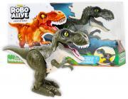 Робот 1TOY RoboAlive Тираннозавр, цвет: зеленый