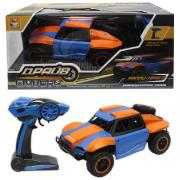 Раллийная машина 1 Toy Драйв голубо-оранжевый Т10969