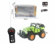 Машина на радиоуправлении Junfa Toys 2CH 1:14 2806-16A Зеленый