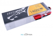 6S (22.2V): АКБ Gens Ace Tattu 14000mAh 22.2V 25C 6S1P Lipo Battery Pack