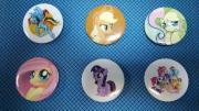 Набор значков My Little Pony №1