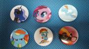 Набор значков My Little Pony №2